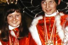 1973 Claudia Köberlein und Rolf Schröder