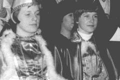 1977 Simone Schlüter und Werner Bruchhage